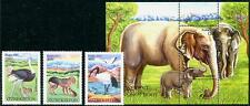 UZBEKISTAN Sc.# 714-17 Tashkent Zoo 2012 3 Stamps & S/S