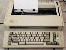 Ibm Personal Wheelwriter 2 Electronic Typewriter 6781 023 Works Great