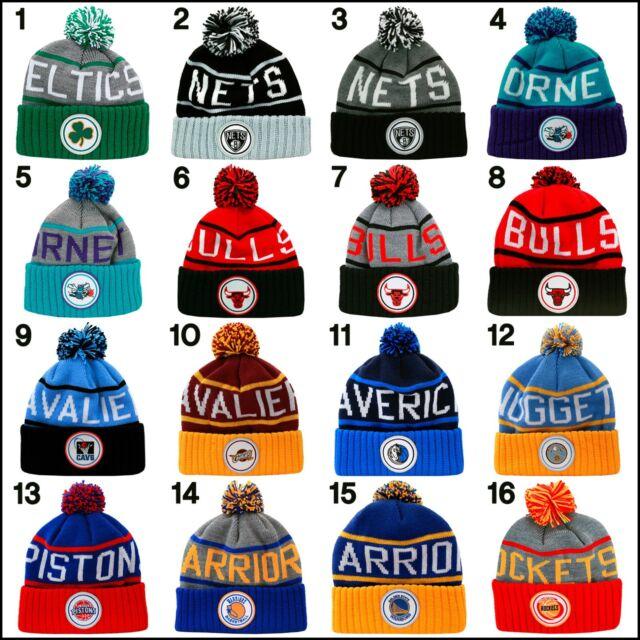 Mitchell & Ness KJ46Z KJ58Z NBA Cuffed Knit Beanie Hat retro jordan
