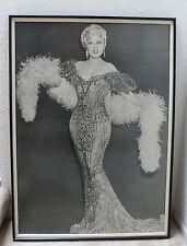 Mae West Sex Symbol Photo Framed Movie Large Poster 31x42 Vintage 60's