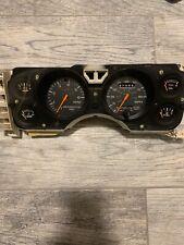 1969 1970 Mustang Instrument Cluster Speedometer Fuel Temp Gauge Standard CONE