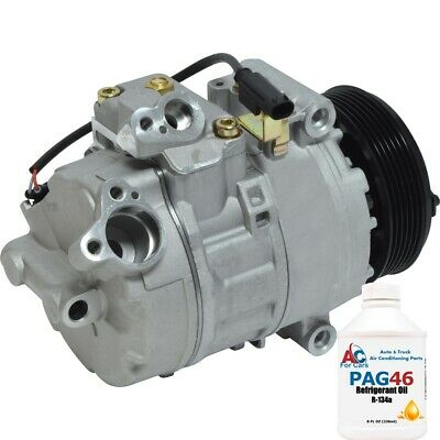 Certified Used Automotive Part Grade A - Replaces 64526936883,64526910458 | A//C Compressor fits BMW 325xi 325Ci 325i 330Ci 525i 330i M3 530i 330xi ID 64526910458