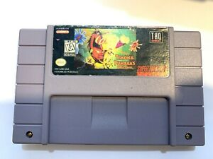 Timon-amp-Pumba-039-s-Jungle-Games-SUPER-NINTENDO-SNES-GAME-Tested-Working-Authentic