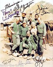 MASH Cast #2  8 x 10 Autograph Reprint  Alan Alda Loretta Swit Jamie Farr
