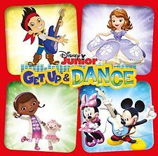 DISNEY JUNIOR GET UP & DANCE ( NEW SEALED CD ) DOC MCSTUFFINS / JAKE / SOFIA