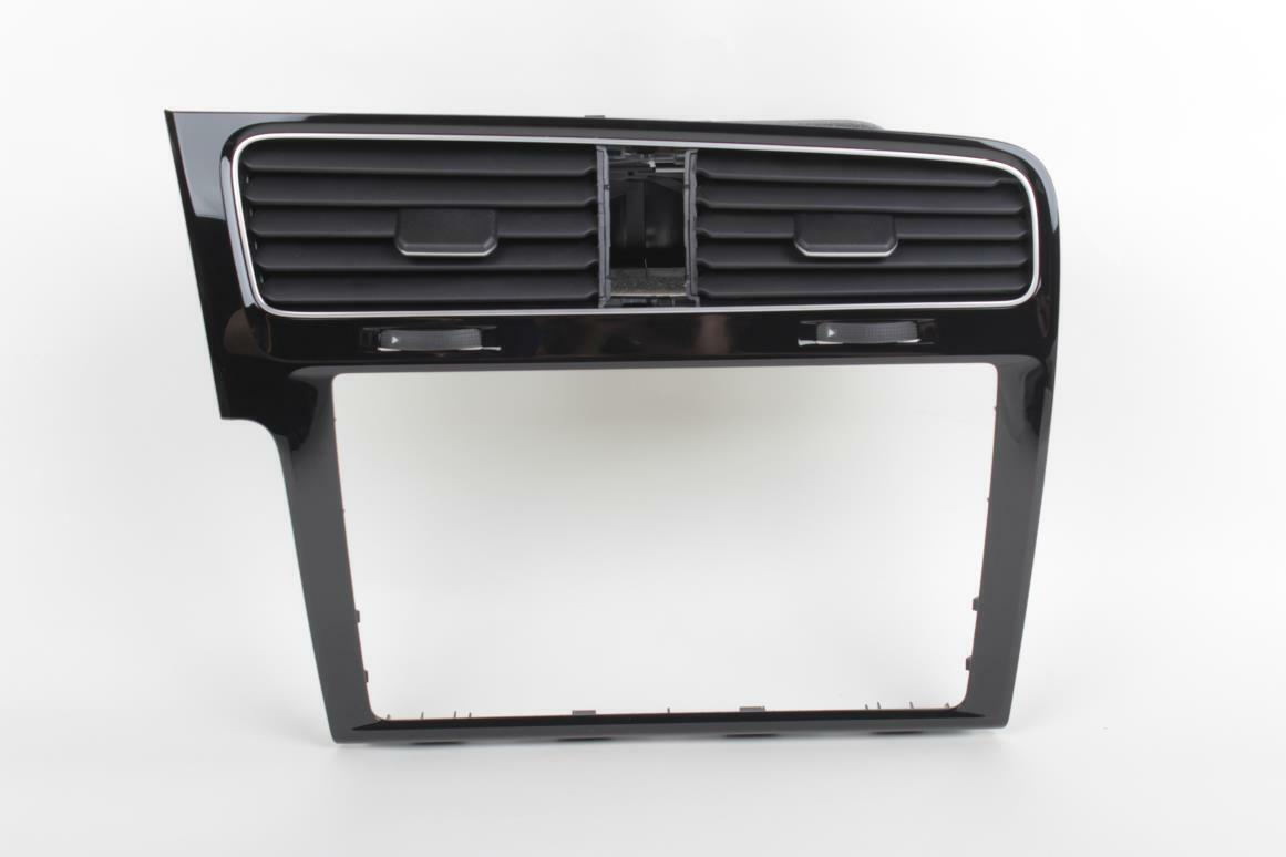 Golf MK7 LHD Center Dashboard Air Vent SAT NAV Panel Trim