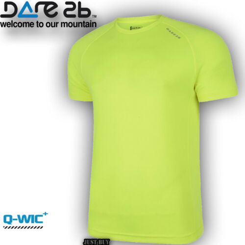 Dare2b T Shirt Active Tee Boardbreak Outdoor Gym Sport Running Cycling Light Top