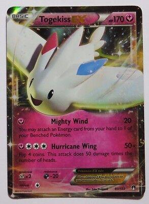 PTCGO, Digital Card Togekiss EX 83//122 for Pokemon TCG Online