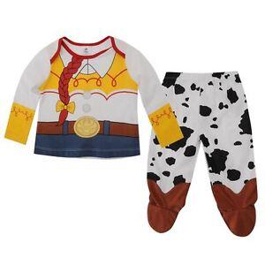 DISNEY-BABY-pyjama-bebe-JESSIE-2-pieces-3-6-6-9-9-12-12-18-ou-18-24-mois-NEUF