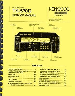 Kenwood TS-570D Transceiver SERVICE MANUAL   eBay