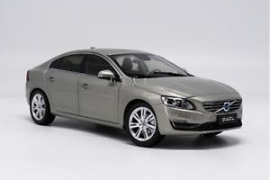 venta al por mayor barato Escala 1 18 Volvo S60 S60L S60L S60L COCHE MODELO DIECAST colección La Decoración Regalo gris  n ° 1 en línea