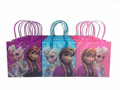 36ct Disney Frozen Elsa Anna Birthday Bags Gift Bags Goody Bags Goodie Bags
