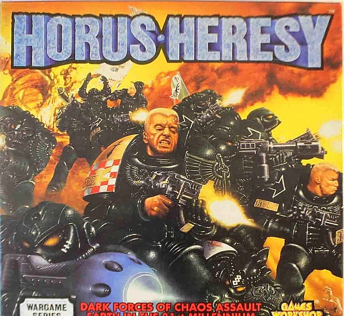 Horus Heresy Dark Forces of Chaos Assult Earth  Games Workshop 0221