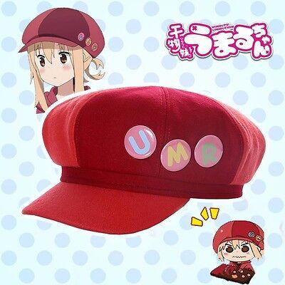 Anime Himouto! Umaru-chan Umaru Doma Hat Daily Cosplay Baseball Cap+ 3 pcs Badge