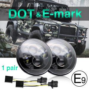 2pcs-7-034-LED-headlights-E-mark-Approved-for-Land-Rover-Defender-07-18-Wrangler