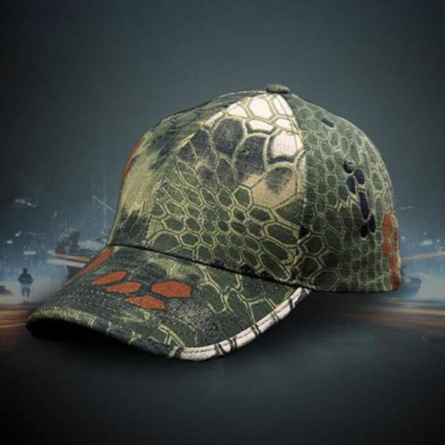 New Men Women Camouflage Hunting Army Baseball Hat Tactical Chief Adjustable Cap