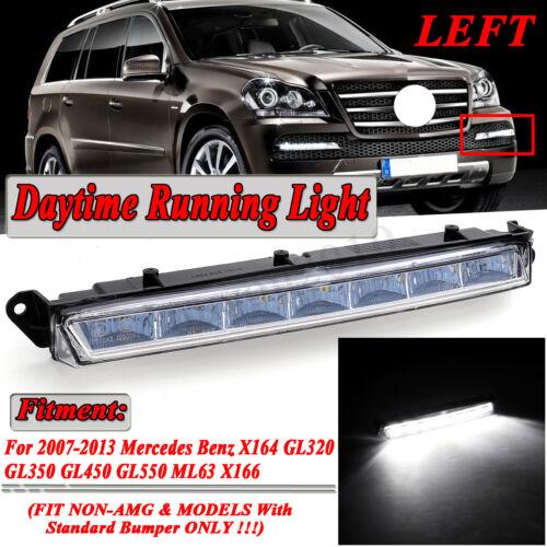 LED Daytime Running Light Left Fog Lamp For Mercedes X164 X166 GL320 GL350 GL450