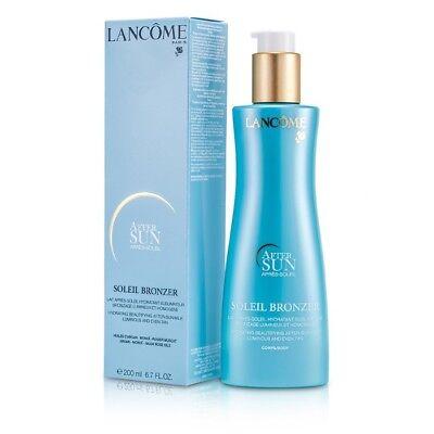 Lancome Soleil Bronzer Hydrating Beautifying After Sun Milk 200ml Womens Skin