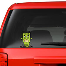 Frankenstein Scary Funny Joke Novelty Car Bumper Window Sticker Decal Car Colour