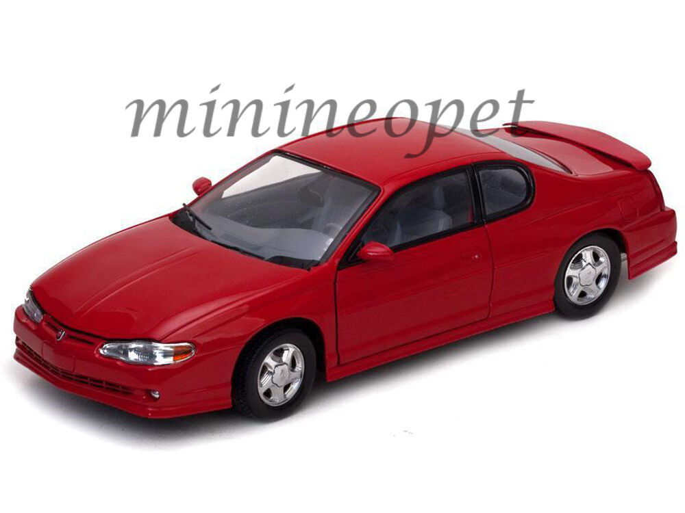 SUN STAR 1987 2000 CHEVROLET MONTE CARLO CARLO CARLO SS 1 18 DIECAST MODEL CAR RED 970527