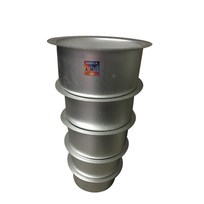 Aluminum Tope with Lid Pot For Biryani Chicken Meat Open Fire Party Picnic 7 Lt