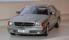 Mercedes 500 SEC W126 AutoArt silver 1/18