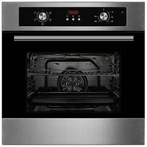 Graded Cookology COF605SS | Stainless Steel Built-in Electric Single Fan Oven