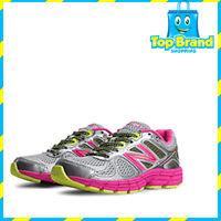Children's New Balance KJ860v4 - Grey Pink Running Shoes Shoes