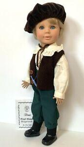 Engel Puppe Boy Doll Hans 21 Vinyl Jointed Posable