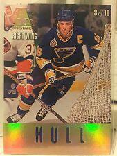 1993-94 Leaf Gold All-Stars #3 Brett Hull + Teemu Selanne