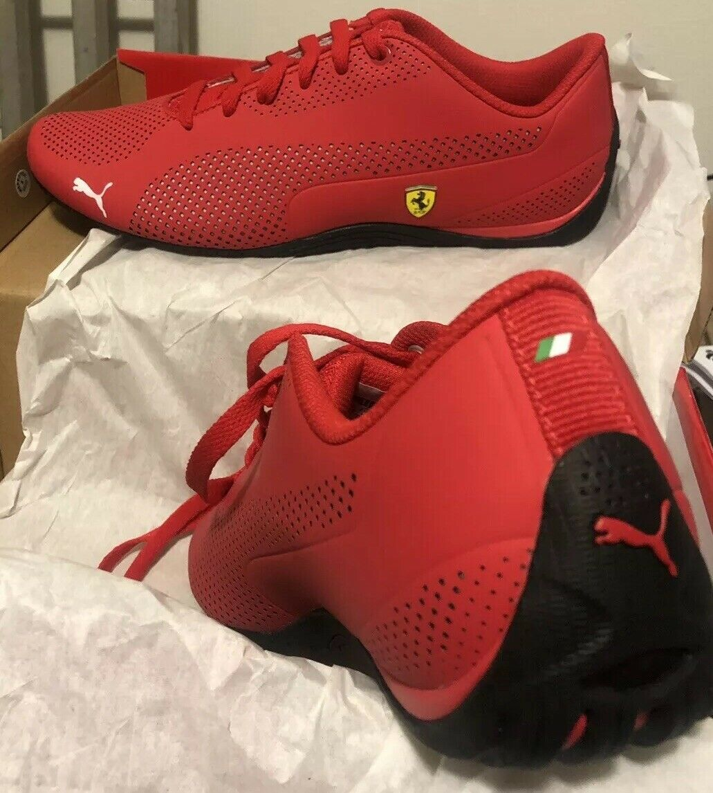 Puma Ferrari Sf Drift Cat 5 Ultra Italie rouge corsa rouge