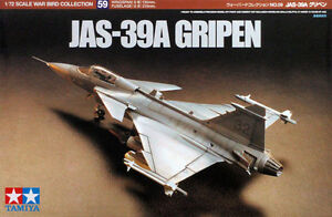 Image is loading Tamiya-60759-JAS-39A-Gripen-1-72-scale-