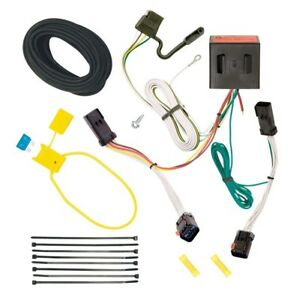 trailer wiring harness kit for 02 07 jeep liberty all styles plug