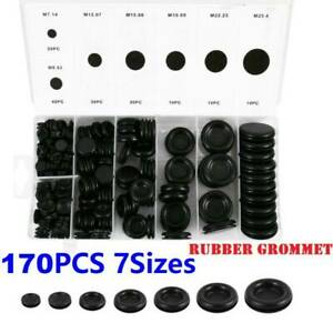 170Pcs-Car-Rubber-Grommet-Firewall-Hole-Plug-Set-Electrical-Wire-Gasket-Kit