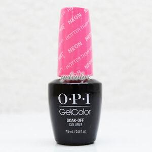 Image Is Loading Opi Gelcolor Soak Off Led Uv Gel Nail