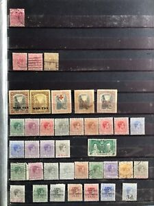 Bahamas Stamp Collection On 4 Pages