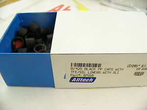 Alltech-97018-Black-PP-Caps-with-TFE-SIL-Liners-with-SLI