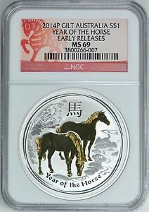 2014-P-GILT-AUSTRALIA-S-1-YEAR-OF-THE-HORSE-EARLY-RELEASES-NGC-MS69