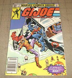 GI JOE #9 (1st Print Feb 1983) VG- Condition Comic - G.I. JOE - Scarlett
