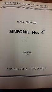 Berwald: Symphony 4: Musique (lr1)-afficher Le Titre D'origine Chaud Et Coupe-Vent