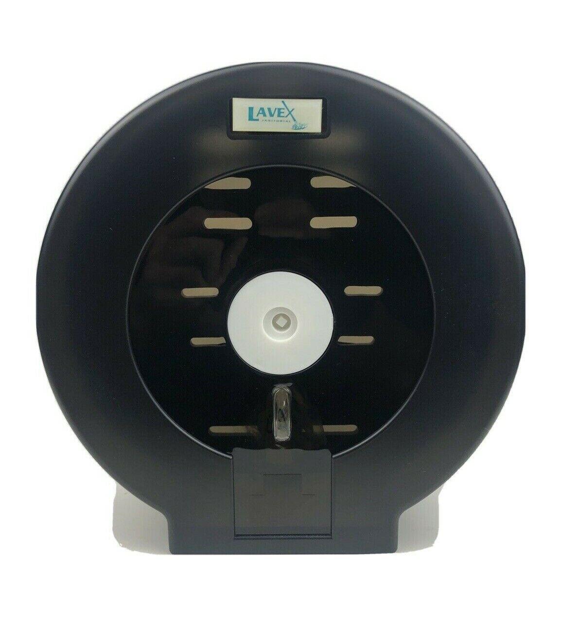 Jumbo Stainless Toilet Paper Dispenser Lavex Lockable Commercial