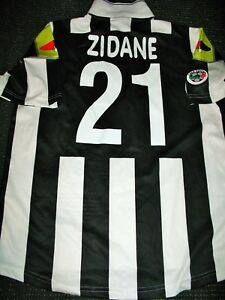 new style b4d71 ed21c Details about Zidane Juventus 2000 2001 Jersey Shirt Maglia Real Madrid  France Maillot L