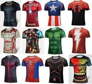 ed86c5d72 Image is loading Mens-Cycling-Sport-Jersey-Compression-T-shirt-Short-