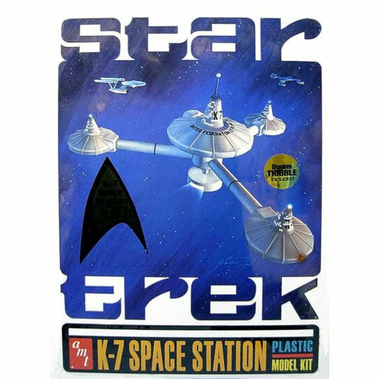 AMT K-7 Space Station Collectors edition tin Plastic Model Kit