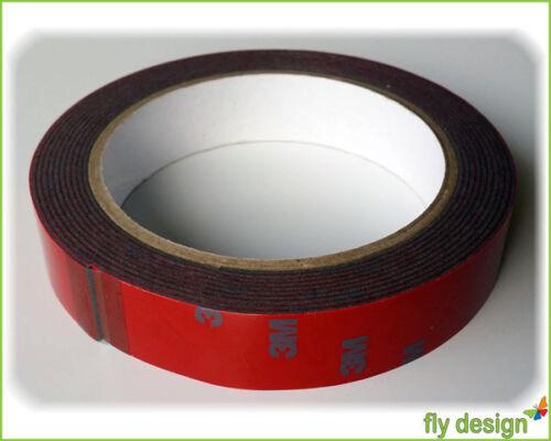 3,63€//m 3M Scotch Acrylic Plus Klebeband Montage Hochleistungskleber 10mm