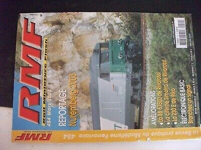 **j Rmf Rail N°454 Paris Nuremberg 2003 / Briqueteries De Templeuve Et Lommes Scelta Materiali