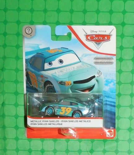New Card Metallic Ryan Shields Scavenger Hunt 2019 Disney Pixar Cars
