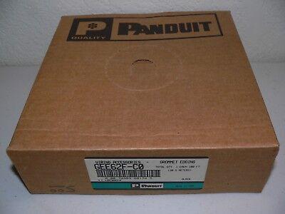 100-Foot Panduit GEE62F-C Slotted Grommet Polyethylene Polyethylene Edging Natural