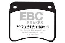 FIT ISR AFTERMARKET CALIPER 22-033 (2 Piston HD)  EBC FRONT ORGANIC BRAKE PADS