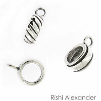 925 Sterling Silver Charm Converter Traditional To European Made In Usa